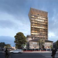 Университет Торонто собирается построить самую высокую деревянно-гибридную башню в Северной Америке