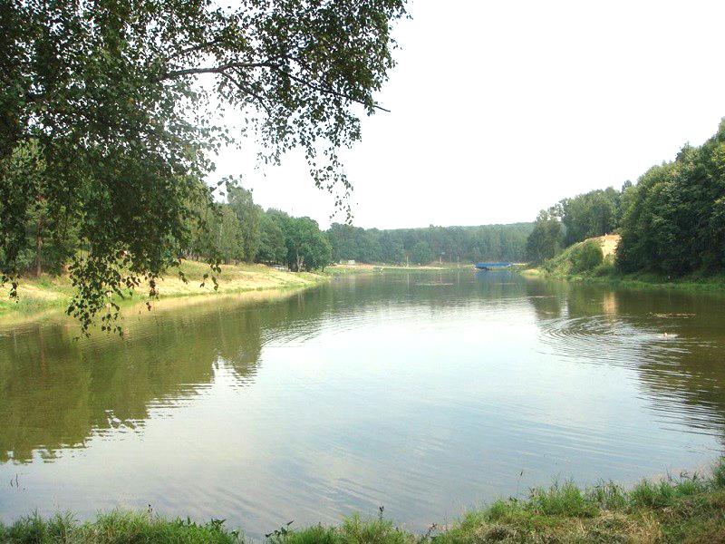 """Река Банька рядом с ЖК """"Изумрудные холмы"""""""