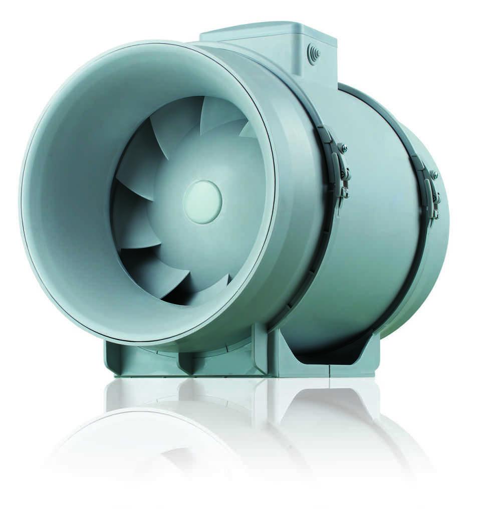 Из чего состоит канальный вентилятор?