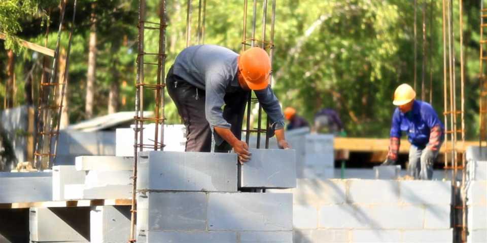 Технология строительства из газобетона