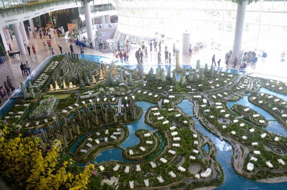 Город-лес, Малайзия