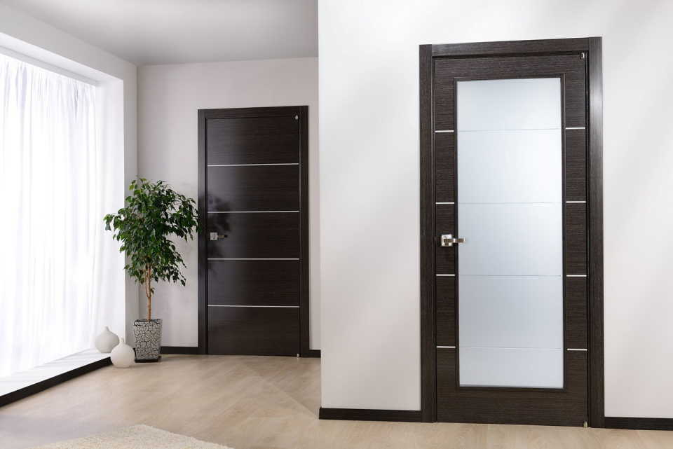 Межкомнатные двери: виды материалов и типы открывания