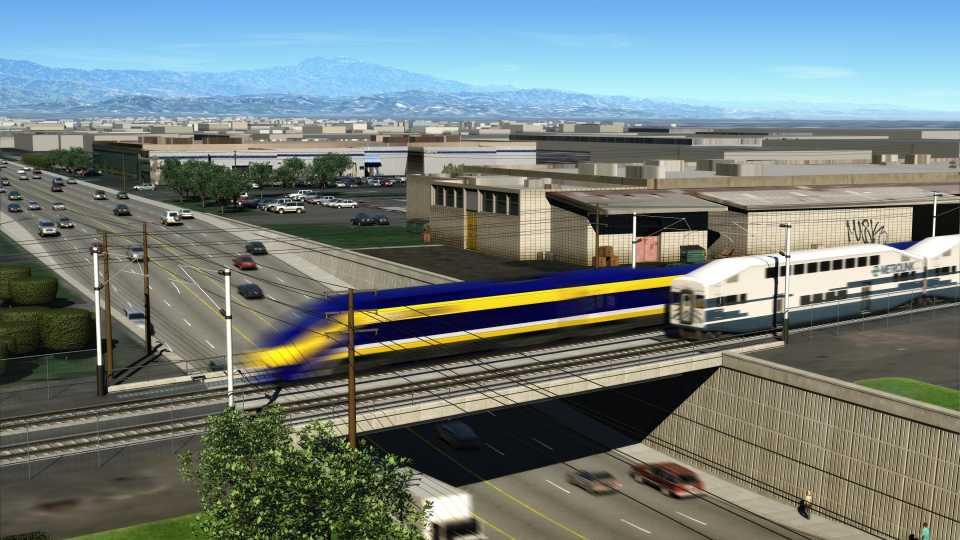 Калифорнийская скоростная железная дорога