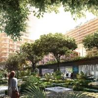 Группа BIG проектирует для Майами комплекс смешанного использования на сваях
