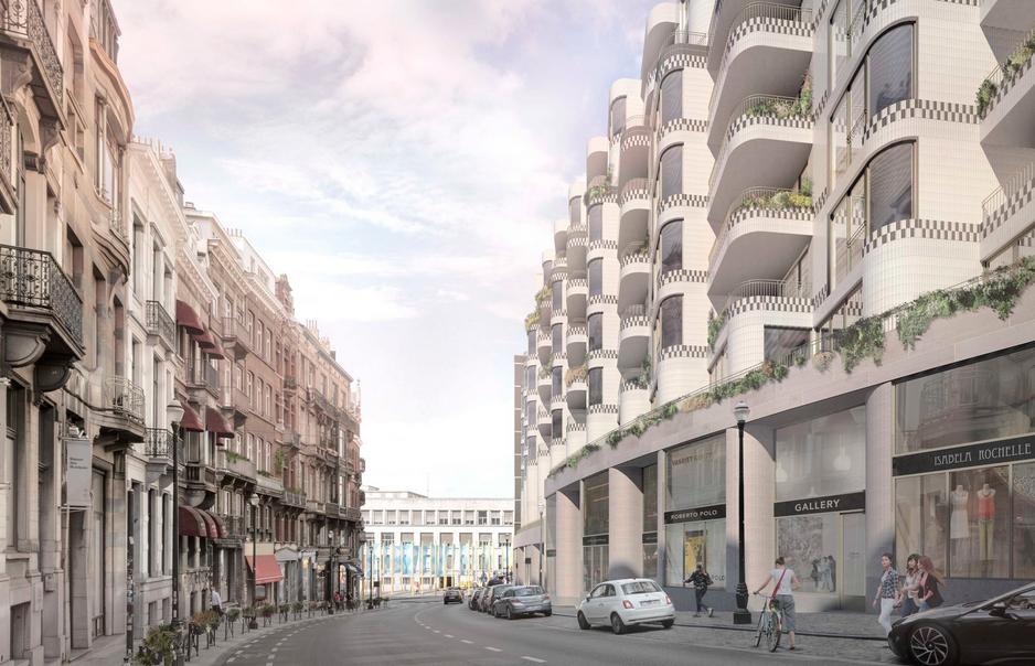 MLA+ выиграла контракт на крупный проект реконструкции исторического центра Брюсселя