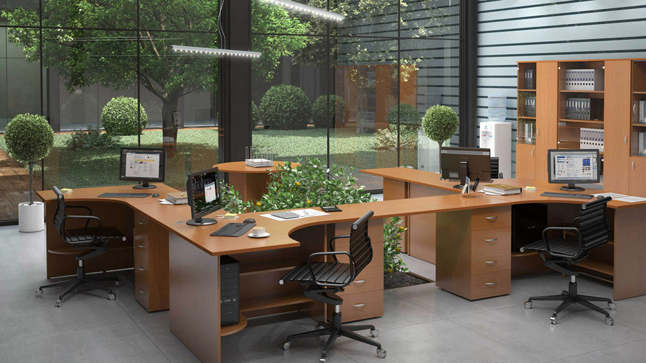 Как сделать офис стильным