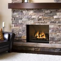 Натуральный камень для облицовки камина: плюсы и минусы материала