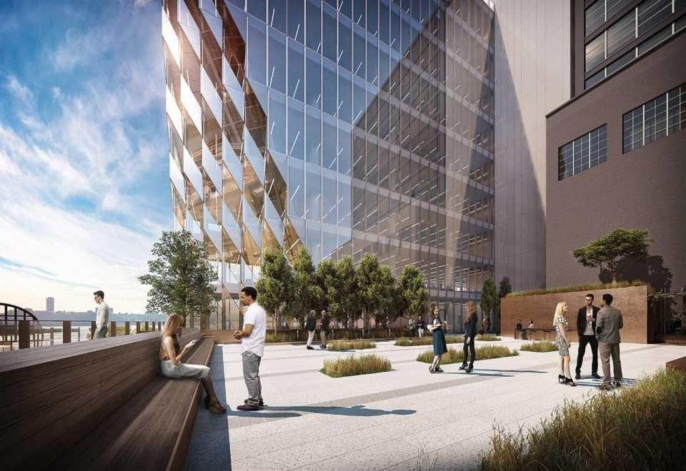 В Нью-Йорке завершается строительство башни Solar Carve по проекту Studio Gang
