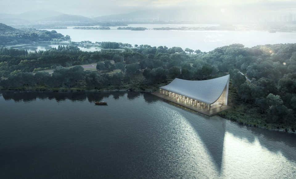 Конкурс «Прекраснейший книжный магазин Чэнду» выиграла MUDA-Architects