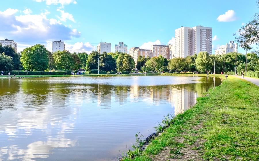 """Парк """"Ангарские пруды"""" рядом с ЖК """"Селигер Сити"""""""