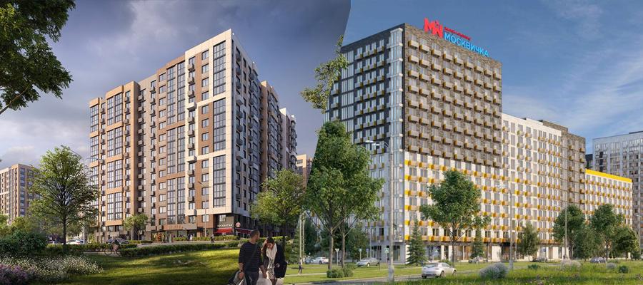 ЖК «Южное Бунино» и ЖК «Москвичка»: большой жилой квартал vs индивидуальный проект