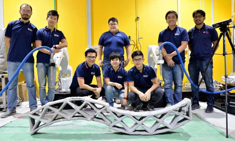 «Один робот печатает хорошо, а два лучше», — продемонстрировали сингапурские инженеры