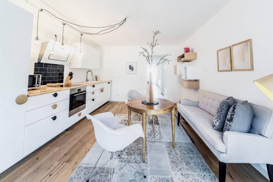 Рекомендации по выбору дивана для кухни
