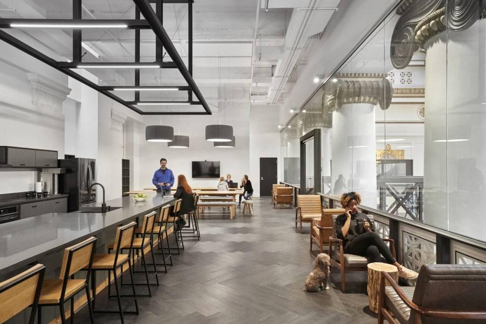 Портлендский офис разработчика Expensify / ZGF Architects