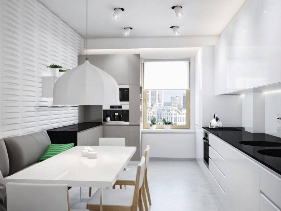 Фото дивана в интерьере кухни