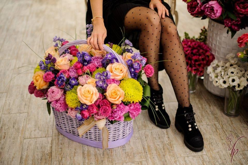 Цветы для создания праздничного настроения от Чайной розы из Киева