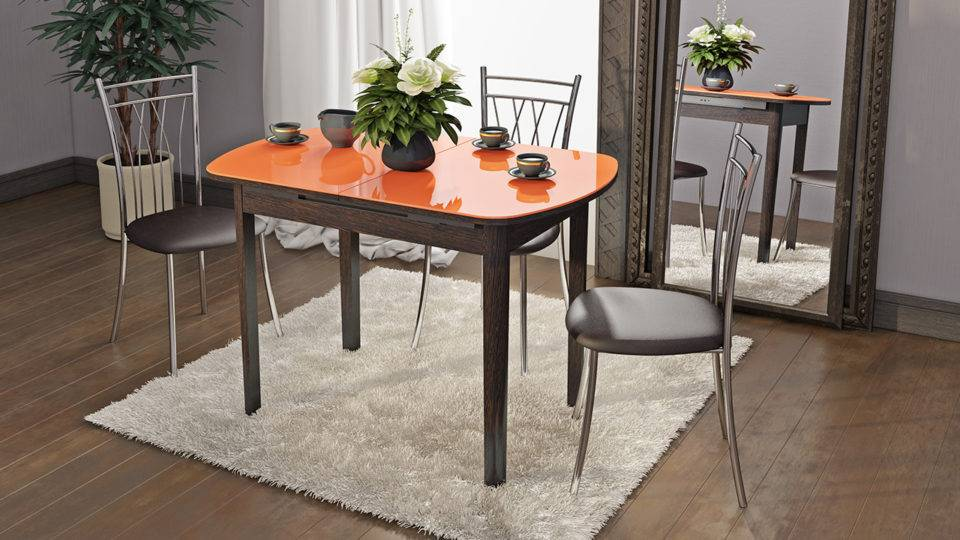 Как выбрать столы для кухни небольших размеров?