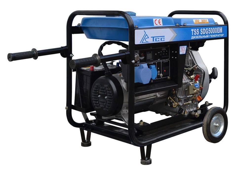 Дизельная электростанция TSS SDG 5000 EH