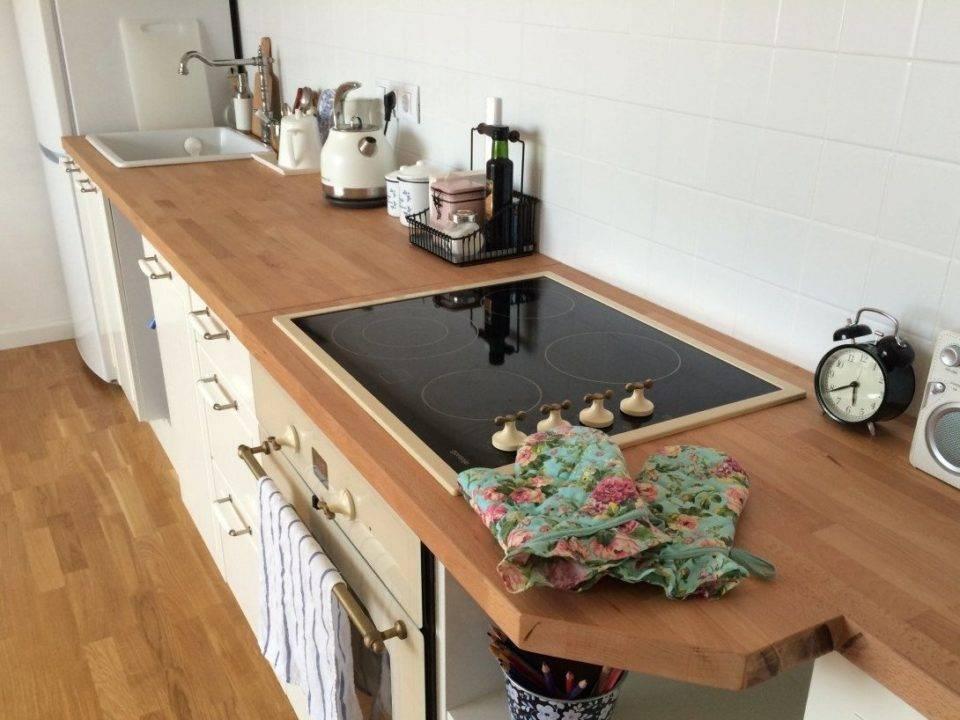 Как обновить столешницу на кухне своими руками?