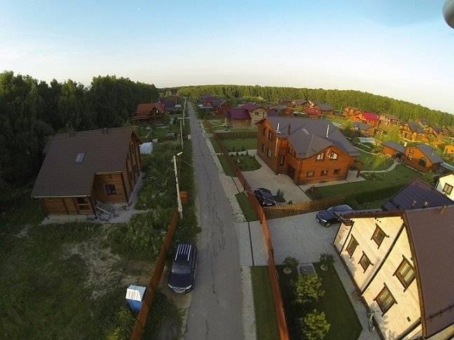 Коттеджный поселок Романовские дачи в Московской области