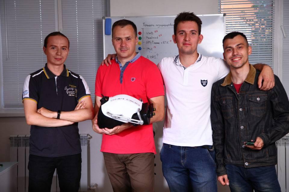 Российский MR шлем для строительной индустрии представлен на выставке в Лас-Вегасе