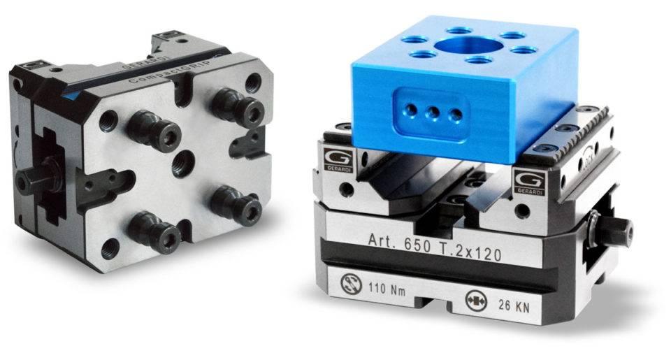 Пирамида AdvaCUT для 5-осевых обрабтывающих центров с тисками CompactGrip