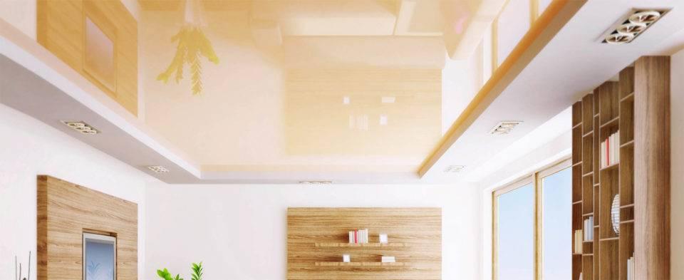 Современные натяжные потолки и их преимущества